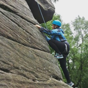Rock Climbing at Brimham Rocks