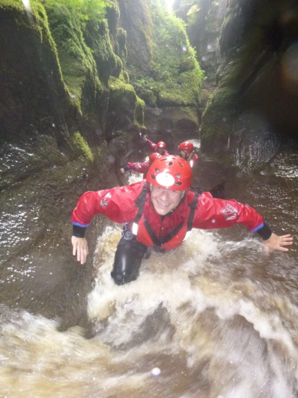 Gorge Walking Hell Gill Hawes