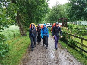 A wet DofE Bronze Expedition