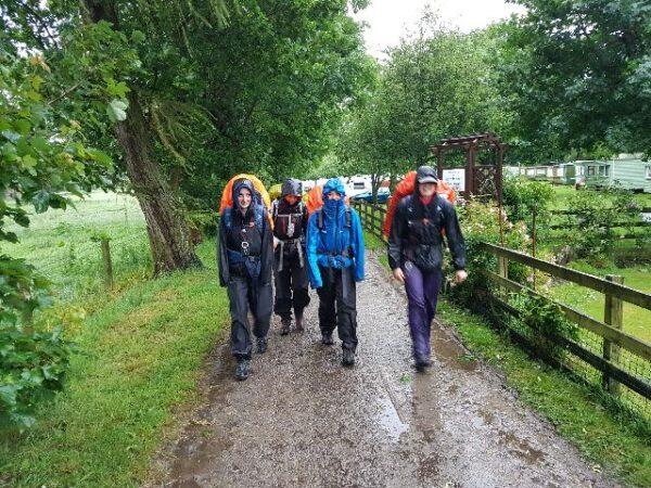 A wet DofE Bronze Expedition