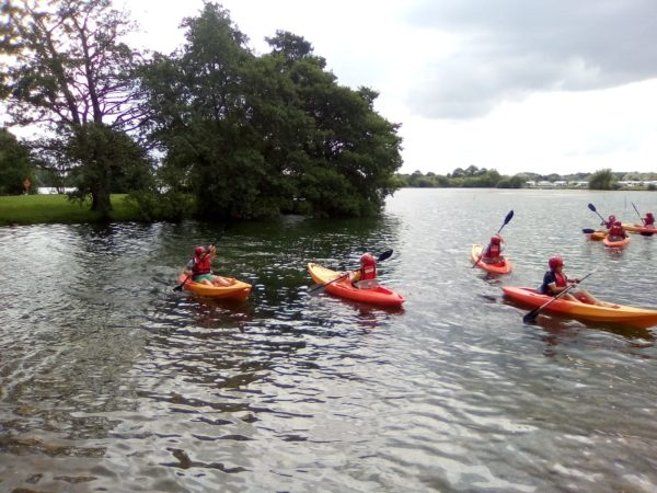 Kayaking in North Yorkshire, Yorkshire Dales and the Lake District