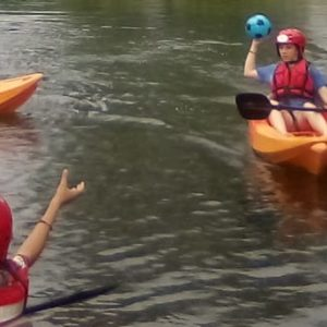 kayaking kids party north yorkshire
