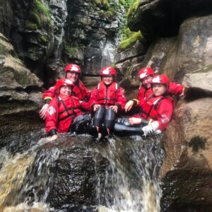 Gorge Scrambling Yorkshire Dales