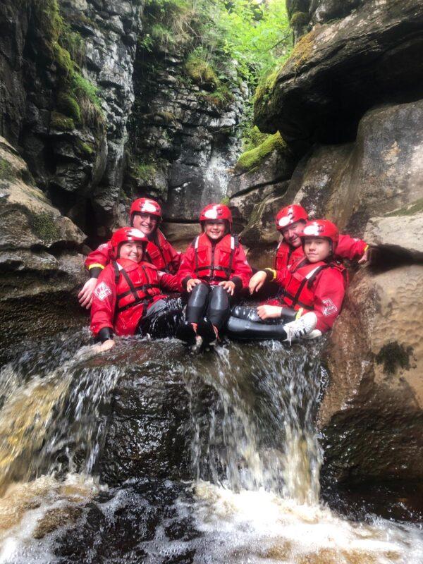 Gorge Scrambling Yorkshire Dales