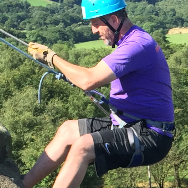 stag group abseiling North Yorkshire