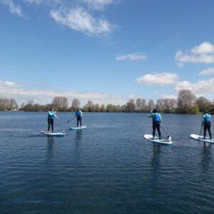 SUP Ellerton Lake