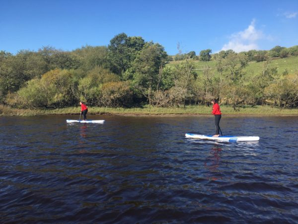 Stand up paddle board experience Yorkshire