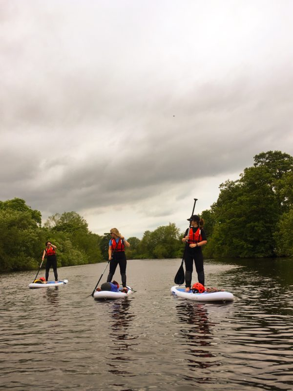 Hen Party Stand Up Paddle Boarding
