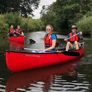 Canoeing Ripon to Boroughbridge