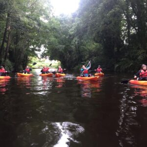 kayaking experience from Ripon to Boroughbridge