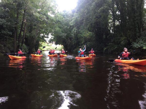 kayaking experience from Ripon to Boroughbridge