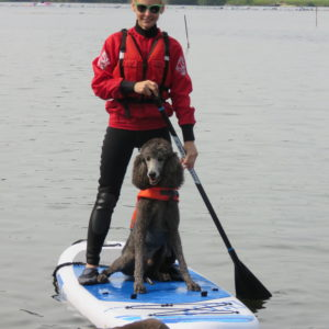Stand Up Paddle Boarding with dogs Yorkshire