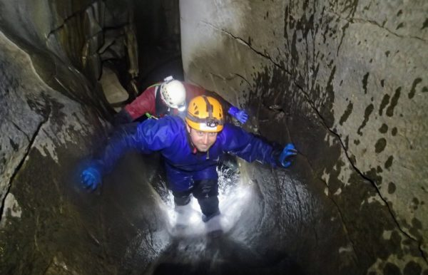Caving Yorkshire Dales