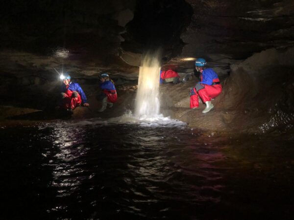Yorkshire Dales Caving fun for all the family