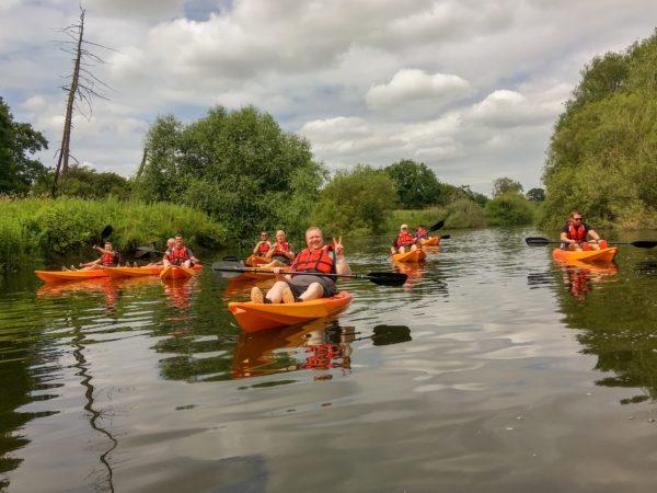 kayaking in York