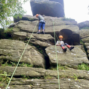 Rock Climbing and Abseiling Brimham Rocks