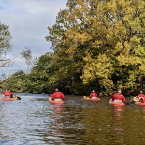 Kayaking River Ure