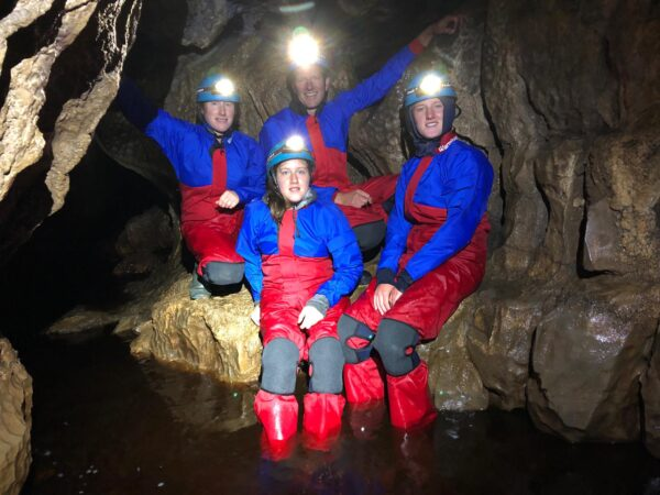 Family caving experience Yorkshire Dales