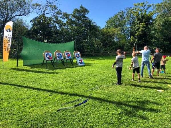 Archery Aysgarth Lodges