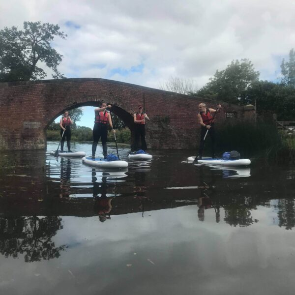 Stand Up Paddle Boarding Ripon Canal