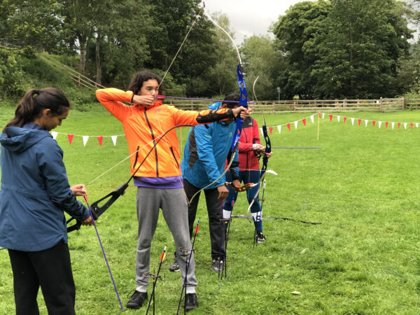 Try archery in the Yorkshire Dales