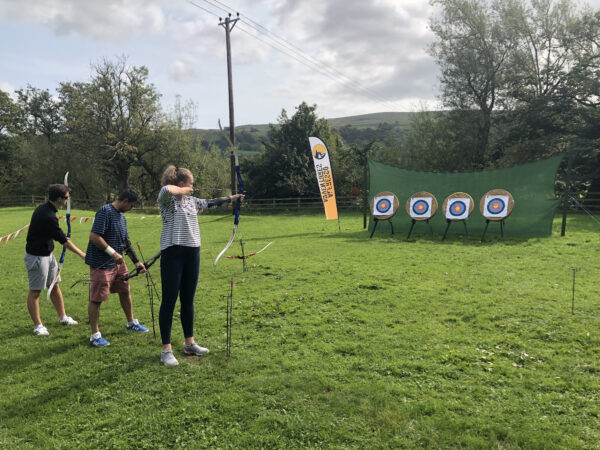 archery experience Yorkshire Dales