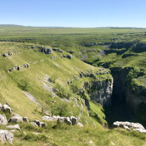 Gordale Scar in the Yorkshire Dales