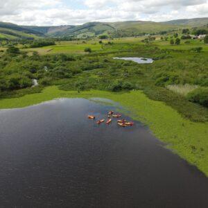 Kayaking Semerwater