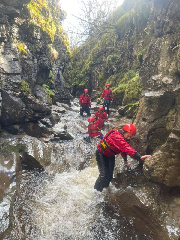 Gorge Walk Hell Gill Near Hawes and Askrigg